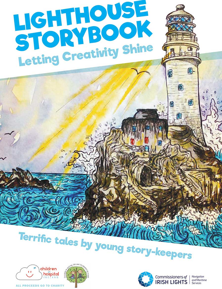 The front cover of the Lighthouse Storybook