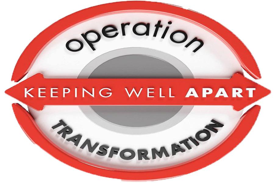 Operation transformation logo