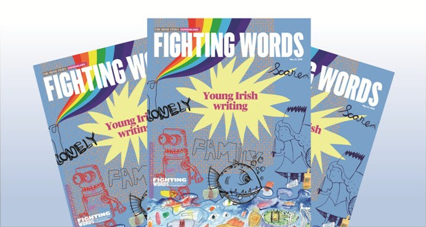 Image of the Fighting Words Supplement in the Irish Times (10th year)