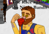Illustration for The Race Against the Night Bandit, written by Shimna Integrated College